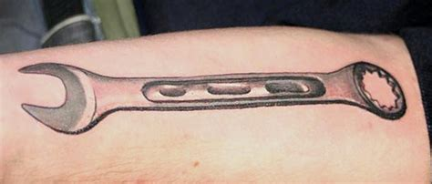 wrench tattoo designs wrench by electric tattoonow