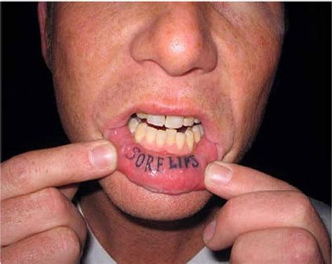 tattoos are for losers lip tattoos are for losers fooyoh entertainment