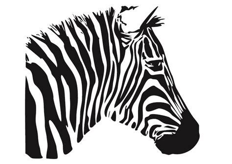 the gallery for gt zebra head stencil