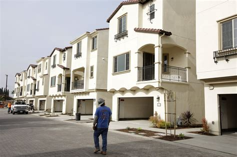 Apartments In Los Angeles 300 Housing Construction Is On The Rise In California But It