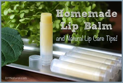 Handmade Lip Balm - lip balm recipe and all lip care