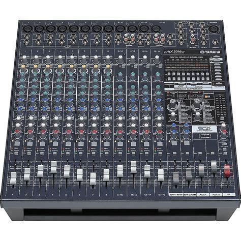 Power Mixer Yamaha Emx5016cf yamaha emx5016cf 16input powered mixer with dual 500 watt