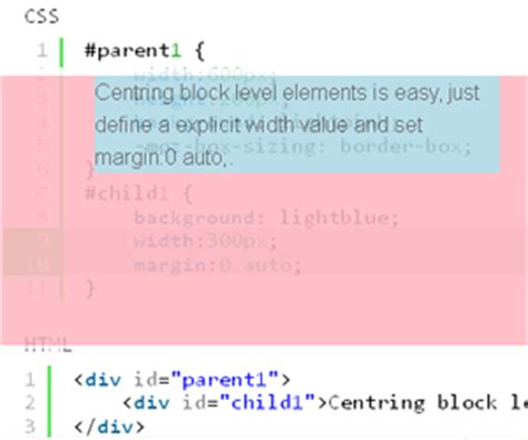 div horizontal align html div alignment horizontal