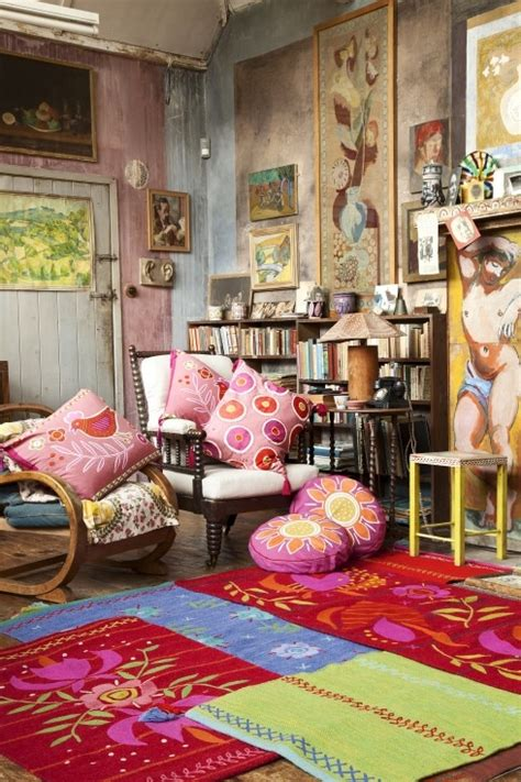bohemian style living room rugs and kilims are the master elements of bohemian style