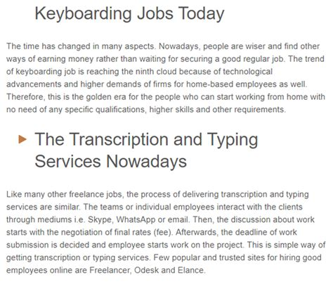 Earn Money By Typing Documents