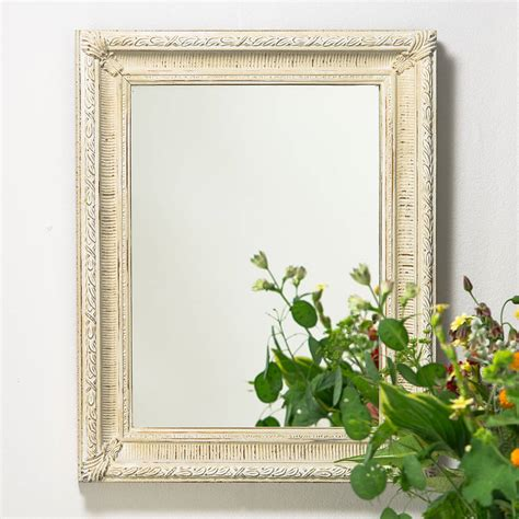 Handcrafted Mirrors - painted fluted mirror by crafted mirrors