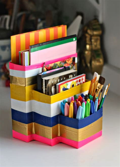 School Desk Organizer Boost Your Efficiency At Work With These Diy Desk Organizers