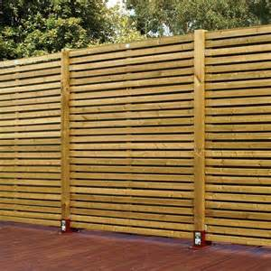 Wooden Trellis Panels Horizontal Fence Panels For Privacy And Protection