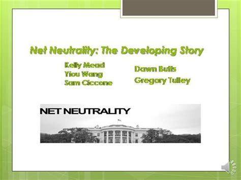 Net Neutrality Authorstream Net Neutrality Email Template