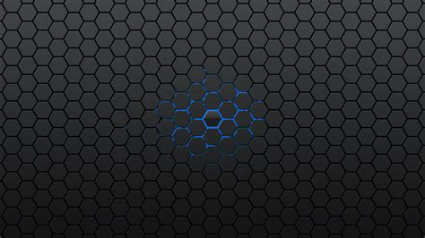 Luxury Christmas Trees - hd black hexagons wallpaper download free 147672