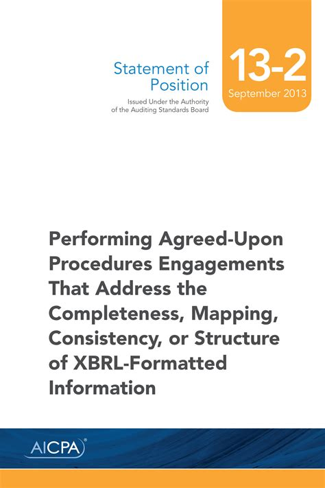 sop   performing agreed  procedures engagements   aicpa