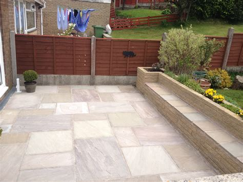 Indian Stone Patio In Brierfield Indian Patio Design