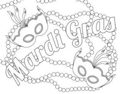 mardi gras coloring pages lovetoknow