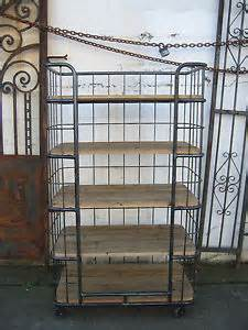 Bakers Rack On Wheels Industrial 5 Shelf Metal Wood Bakers Rack With Wheels
