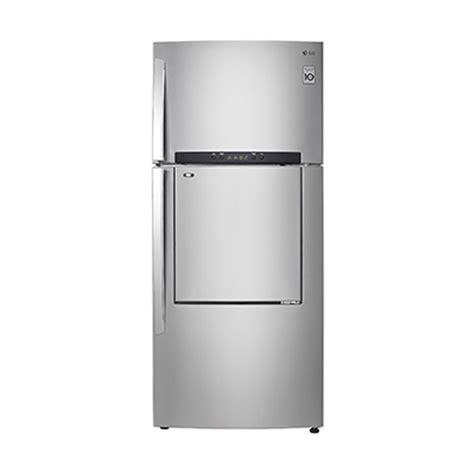 Freezer Kulkas Lg jual lg gnd702hlal kulkas 2 pintu harga