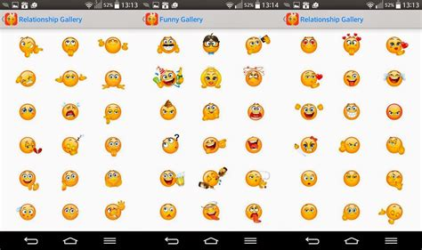 Naughty Smiley Emoticons For Android