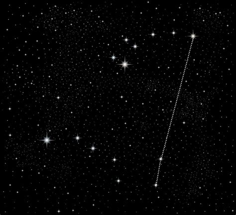 polaris star north star location in the sky north get free image