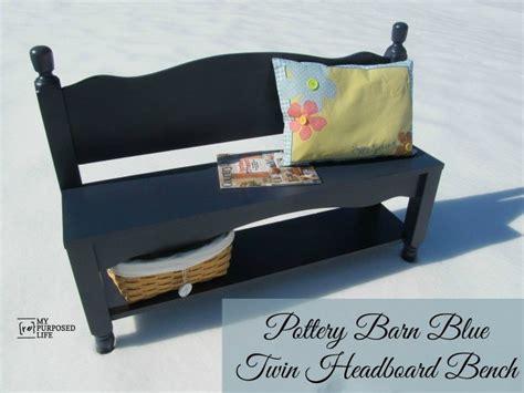 headboard bench with storage repurposed storage ideas refresh restyle