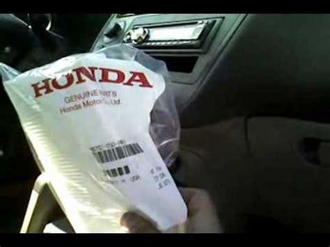 Honda Service Code B12 How To Replace Cabin Filter Honda Pilot 2006 Autos Post