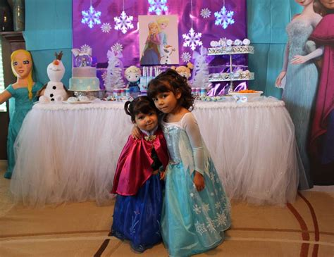 themes for joint birthday parties frozen birthday quot frozen theme joint birthday party