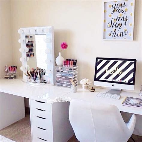 desk and vanity combo ideas desk and vanity combo