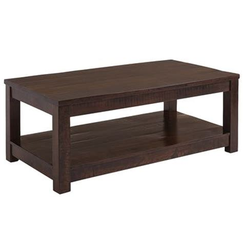 Pier 1 Coffee Table Parsons Coffee Table Tobacco Brown Pier 1 Imports