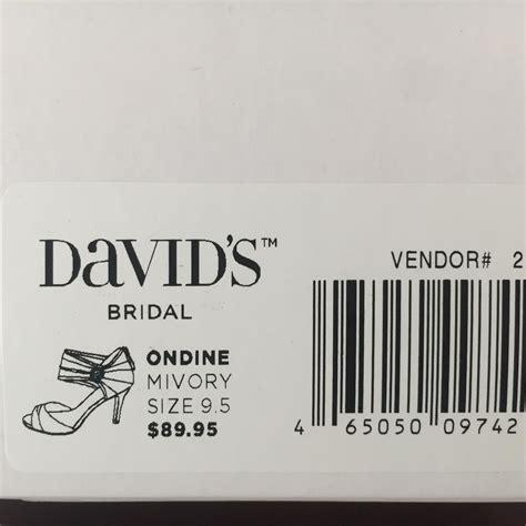 david s bridal ondine ivory pumps on sale 62 pumps