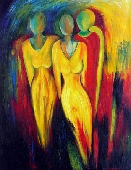 peinture moderne contemporaine tableau