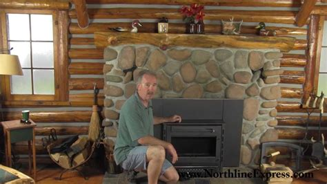 Installing A Wood Fireplace Insert by Installing A Volgalzang Colonial Wood Burning Stove Insert