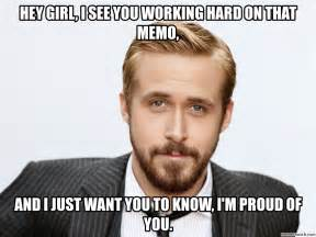 Ryan Gosling Studying Meme - ryan gosling hey girl meme
