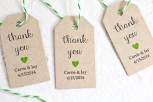 How To Make Labels For Favors by Personalized Wedding Favor Tags Kraft Paper Rustic By Idotags