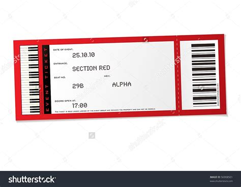 Event Ticket Template Exle Mughals Basketball Ticket Template Free