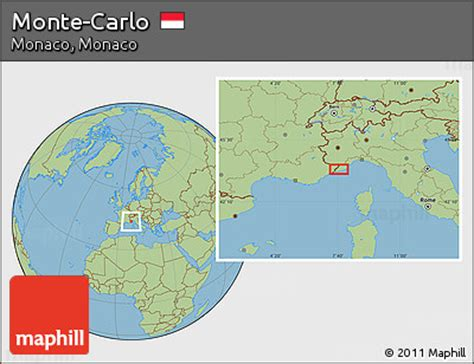 where is monte carlo on the world map free savanna style location map of monte carlo