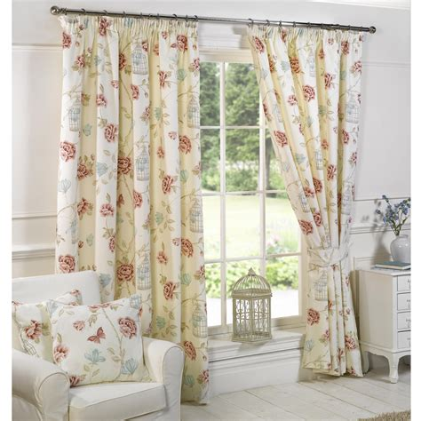 vintage flower curtains 6 kinds of vintage floral curtains
