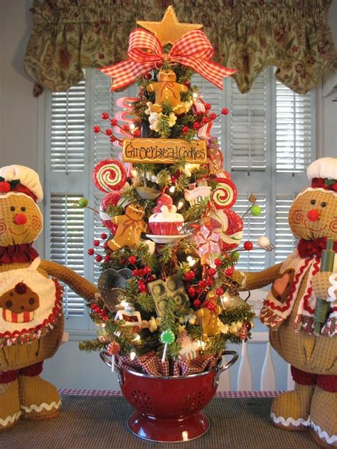 gingerbread themed trees decorating ideas gingerbread theme www indiepedia org