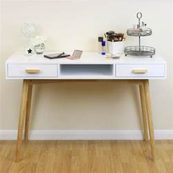 Office Desk Vanity White Scandinavian Modern Bedroom Dressing Table Makeup