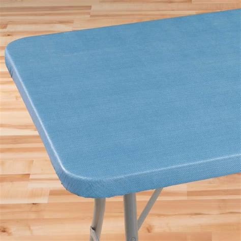 elastic table cover classic weave elasticized banquet table cover