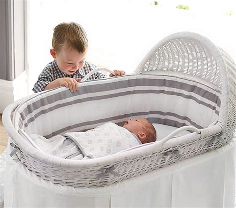 baby bassinet for bed new bassinet for newborns from pottery barn kids