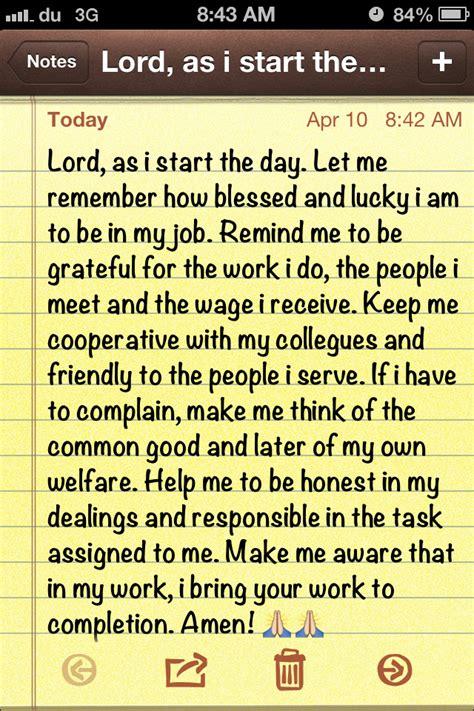 Work Pray prayer before work faith prayers prayer