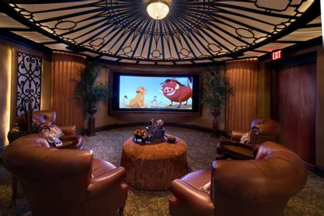 Home Theater Is A Titanic Replica by 4 Favorite Themed Home Theaters Electronic House