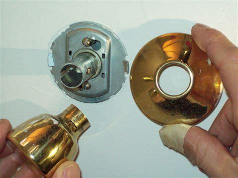 how to fix a doorknob that s come networx