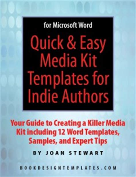 author media kit template author media kit include 8 essential items