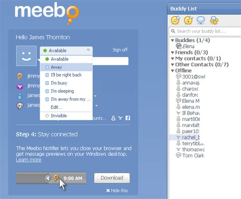 meebo chat rooms meebo web apps