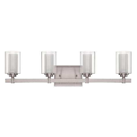Polished Nickel Bathroom Lights Craftmade Celeste Brushed Polished Nickel Bathroom Light 16727bnk4 Destination Lighting