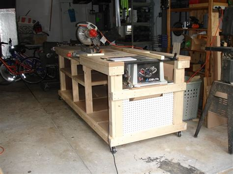 backyard workshop plans ultimate workbench backyard
