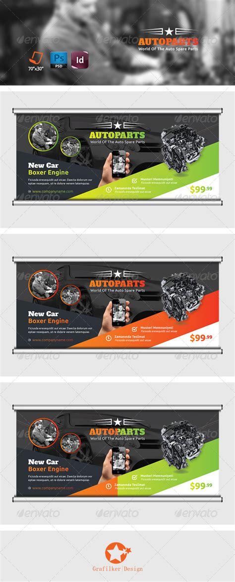 Auto Service by Auto Services Billboard Templates By Grafilker Graphicriver