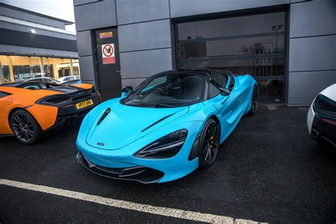 Mclaren 720s Blue by Mso Fistral Blue Mclaren 720s Recently Purchased A New