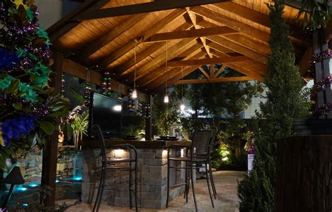 Outdoor Bar Lights Outdoor Lighting Expressions Illuminating Finer Homes Landscapes Outdoor Living Areas
