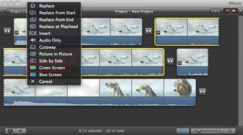 tutorial para imovie c 243 mo utilizar el efecto de pantalla verde o chroma key en