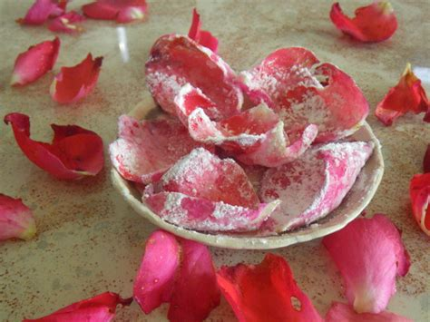 homemade rose food homemade crystallised rose petals recipe food com
